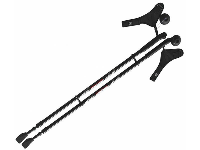 Палки Ergoforce E 0674 115-140cm Black