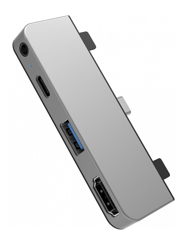 Аксессуар HyperDrive 4-in-1 USB-C Hub HD319E-Silver