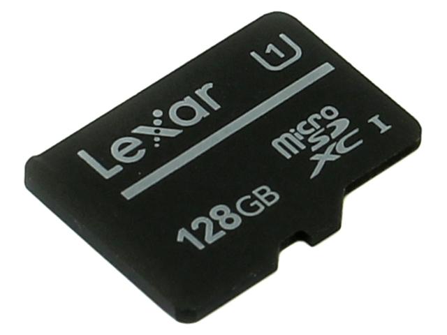Zakazat.ru: Карта памяти 128Gb - Lexar Micro Secure Digital XC Class 10 UHS-I LFSDM10-128ABC10