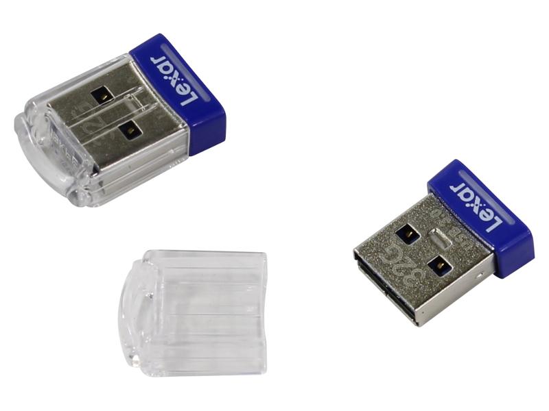 USB Flash Drive 32Gb - Lexar JumpDrive S45 Mini LJDS45-32GABEU