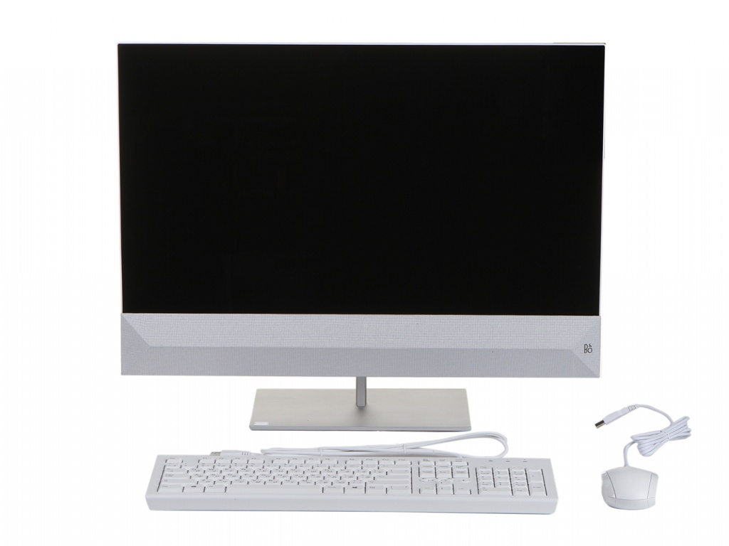 Моноблок HP Pavilion 27-xa0103ur White 7JY84EA (Intel Core i5-9400T 1.8 GHz/8192Mb/512Gb SSD/nVidia GeForce MX230 2048Mb/Wi-Fi/Bluetooth/Cam/27.0/1920x1080/Windows 10 Home 64-bit)