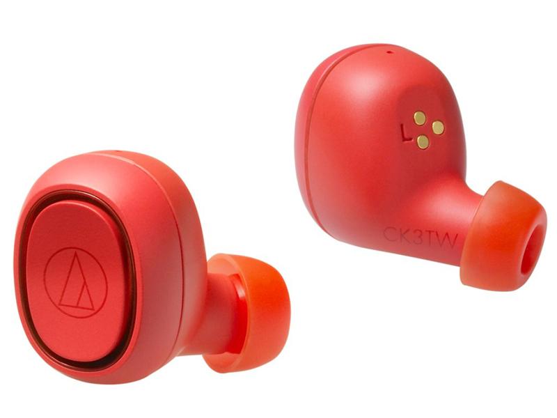 Наушники Audio-Technica ATH-CK3TW Red — ATH-CK3TW