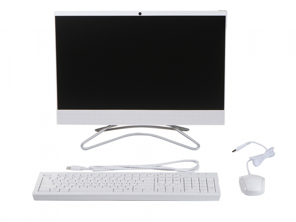 Моноблок HP 22-c0123ur White 7JZ22EA (AMD A6-9225 2.6 GHz/4096Mb/256Gb SSD/AMD Radeon R4/Wi-Fi/Bluetooth/Cam/21.5/1920x1080/Windows 10 Home 64-bit) от HP (Hewlett Packard)