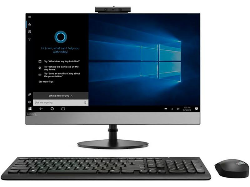 Моноблок Lenovo V530-24ICB 10UW00GCRU (Intel Core i3-9100T 3.1GHz/4096Mb/128Gb SSD/DVD-RW/Intel HD Graphics/Wi-Fi/Bluetooth/23.8/1920x1080/No OS) ноутбук hp 15 dw0005ur intel core i3 8145u 2100 mhz 15 6 1366x768 8gb 256gb ssd no dvd intel uhd graphics 620 wi fi bluetooth windows 10