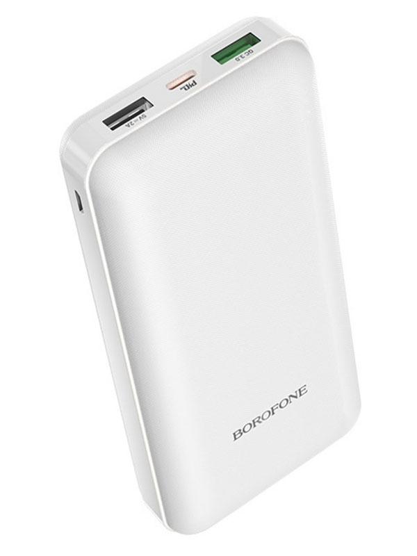 Внешний аккумулятор Borofone BT26A Super PD+QC3.0 20000mAh White