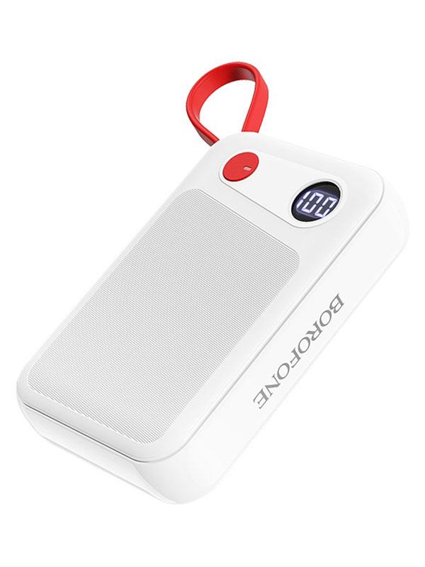 Внешний аккумулятор Borofone Power Bank BT24 Quick for Micro USB 10000mAh White фото