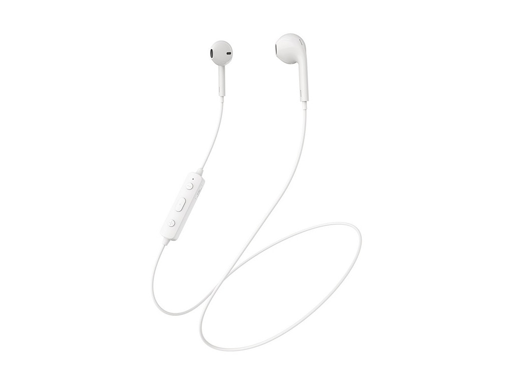 Наушники Borofone BE22 FreeRun Sports Wireless Earphone White