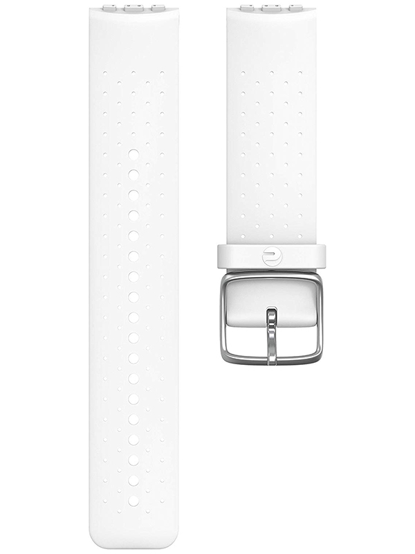 Аксессуар Ремешок для Polar Wrist Band Vantage Silicone S/M White 91069751 silicone rubber watch band 17mm 18mm 19mm 20mm 21mm 22mm 23mm 24mm universal watchband strap wrist belt bracelet
