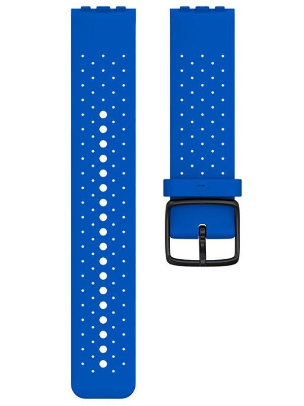 Аксессуар Ремешок для Polar Wrist Band Vantage Silicone M/L Blue 91080223