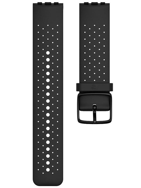 Аксессуар Ремешок для Polar Wrist Band Vantage Silicone M/L Black 91069748 silicone rubber watch band 17mm 18mm 19mm 20mm 21mm 22mm 23mm 24mm universal watchband strap wrist belt bracelet