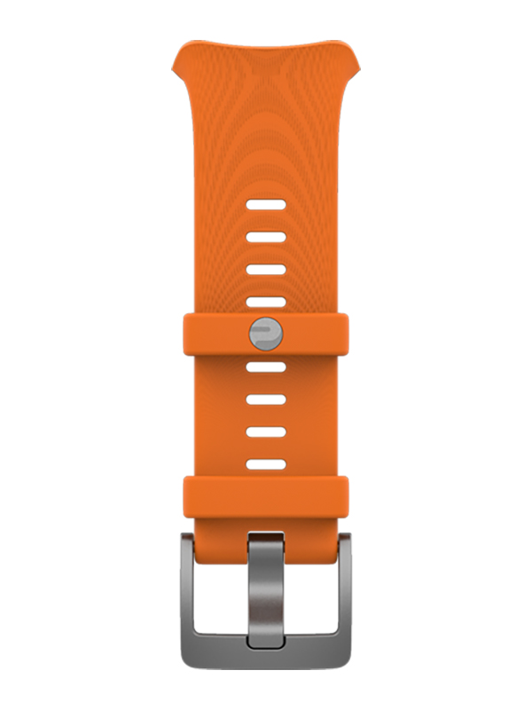 Аксессуар Ремешок для Polar Vantage V Single Band Silicone с пряжкой Orange 91071652