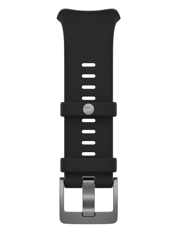 Аксессуар Ремешок для Polar Vantage V Single Band Silicone с пряжкой Black 91071646