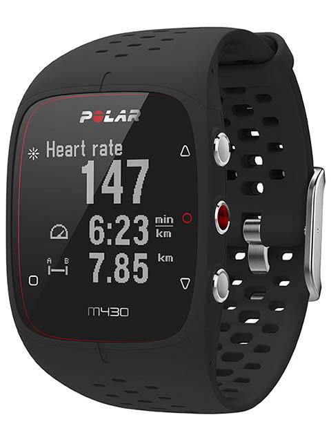Часы Polar M430 Black 90066337