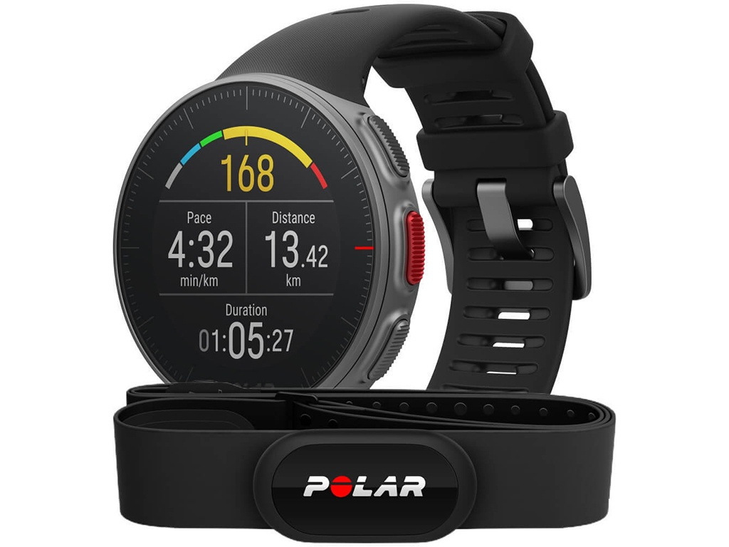 цена на Часы Polar Vantage V HR Black 90069634