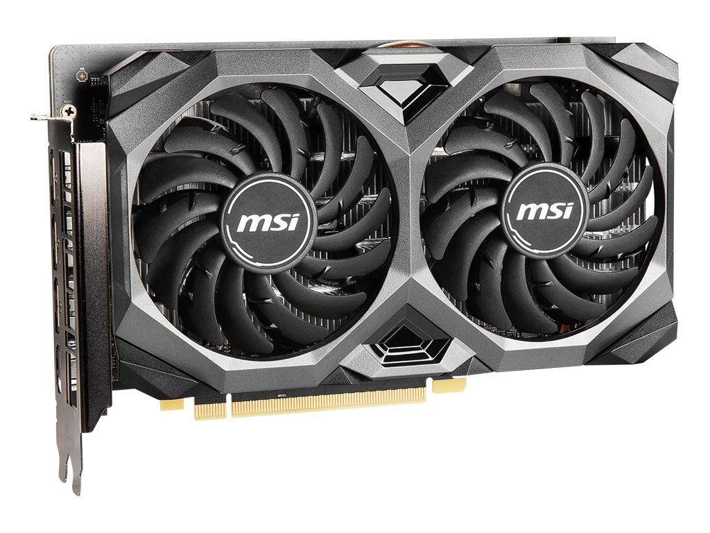 Видеокарта MSI Radeon RX 5500 XT 1647Mhz PCI-E 4.0 4096Mb 14000Mhz 128 bit HDMI 3xDP HDCP Mech 4G OC