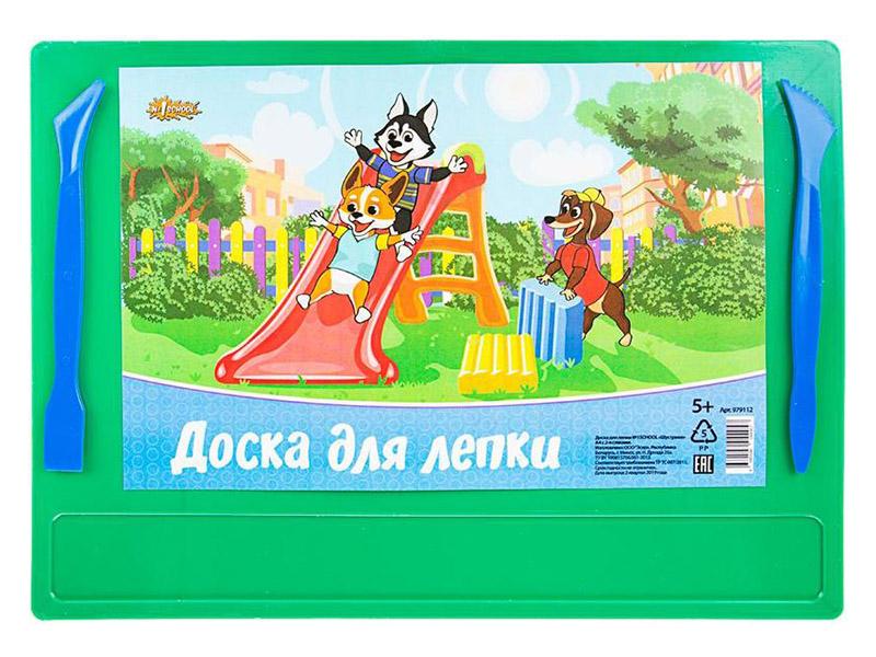 Доска для лепки №1 School Шустрики А4 278x198mm 979112