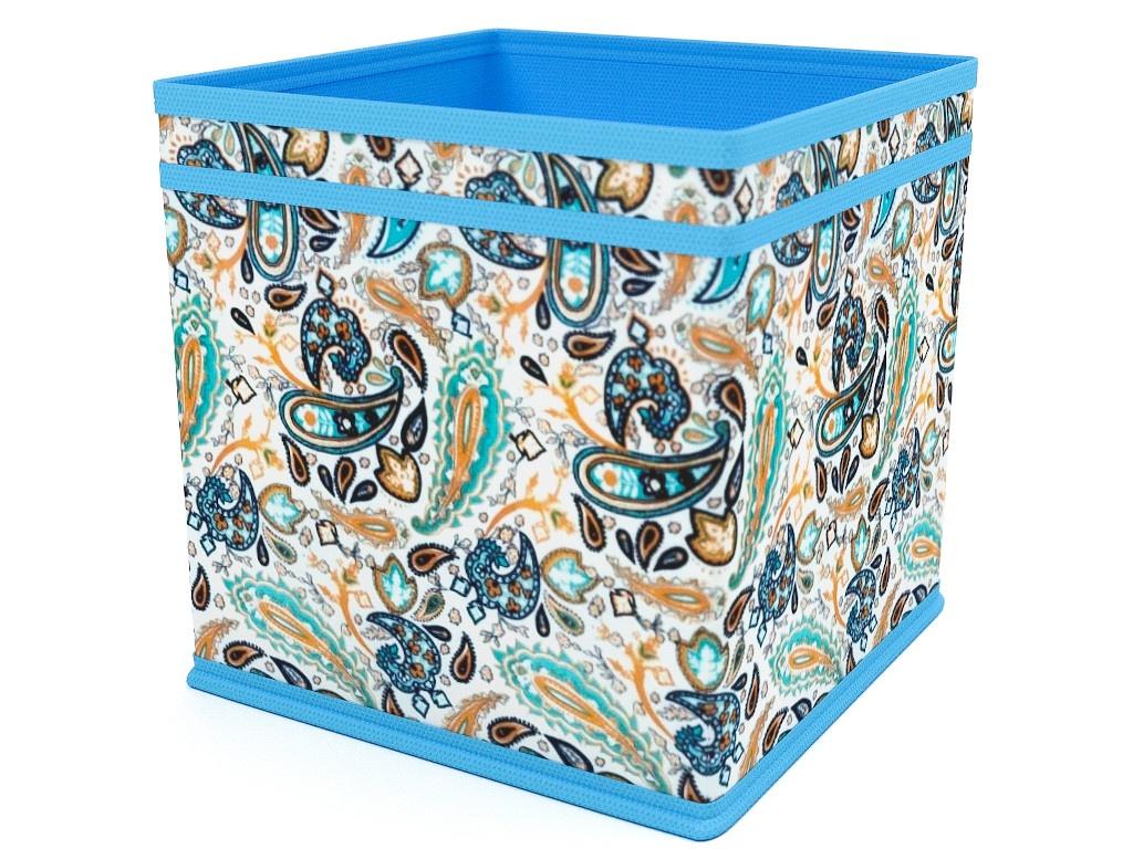 Фото - Коробка - куб Cofret Грация 22x22x22cm 6040 органайзер для мелочей cofret русский шик метелица 830 черный