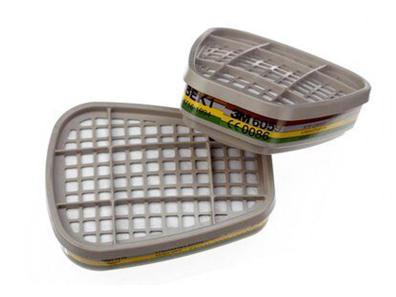 Фильтр для защиты от газов и паров 3M 6059 степень ABEK1 2шт 7000034747