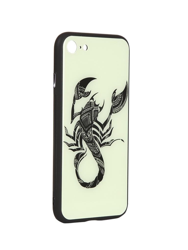 Чехол Flexis для APPLE iPhone 7/8 Скорпион FX-CASE-GiDGC-iP7-SCORP цена 2017
