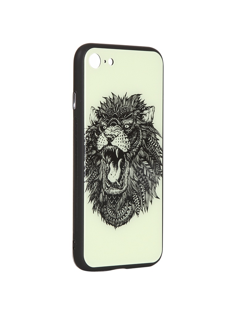 Чехол Flexis для APPLE iPhone 7/8 Лев FX-CASE-GiDGC-iP7-LION