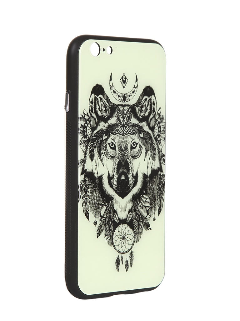 Чехол Flexis для APPLE iPhone 6/6S Волк FX-CASE-GiDGC-iP6-WOLF стоимость