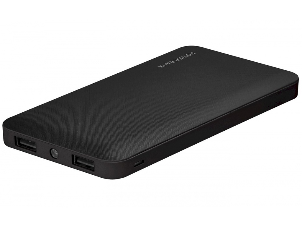 Внешний аккумулятор Flexis Power Bank M09 10000mAh 2xUSB Black FX-PB-S10-BL