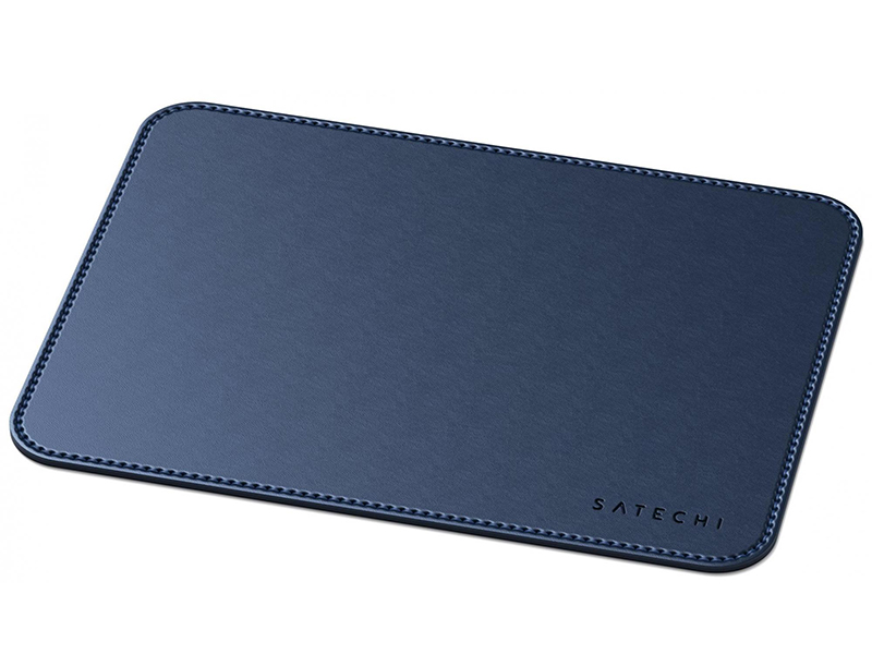Коврик Satechi Eco Leather Mouse Pad Blue ST-ELMPB