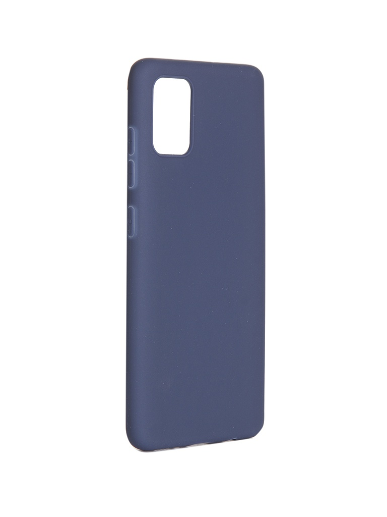 Чехол Pero для Samsung Galaxy A51 Soft Touch Blue СС01-A51BL