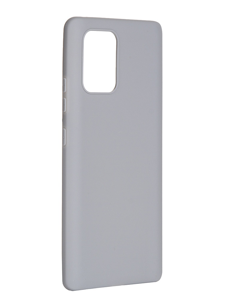 Чехол Pero для Samsung Galaxy S10 Lite Soft Touch Grey CC01-S10LGR