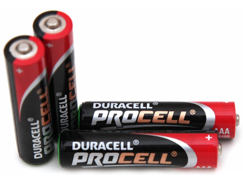 Батарейка AAA - Duracell LR03 10BL Procell (10 штуки)