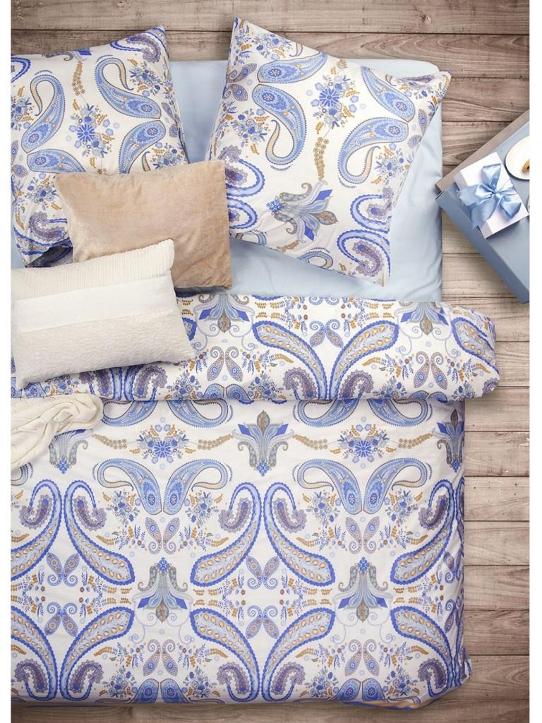 Постельное белье Sova&Javoronok Индиго Комплект 2 спальный Бязь 2030115338