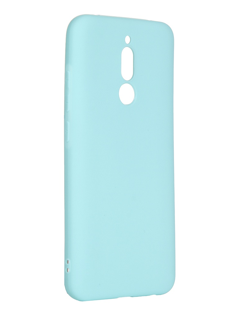 Чехол Pero для Xiaomi Redmi 8 Soft Touch Turquoise CC01-R8C
