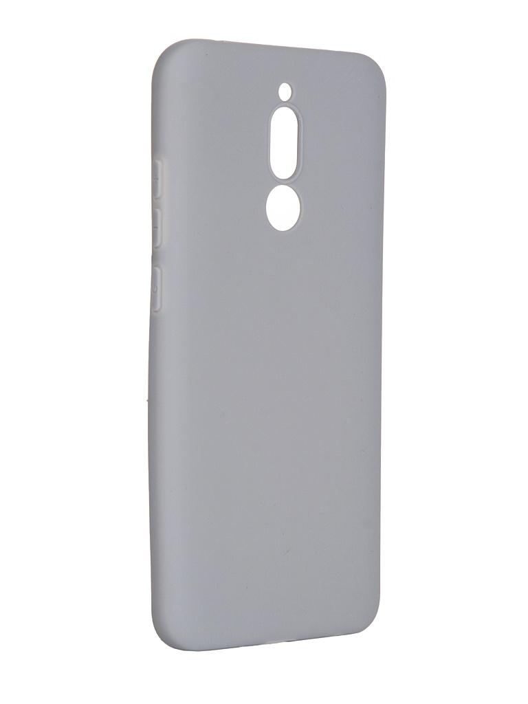 Чехол Pero для Xiaomi Redmi 8 Soft Touch Grey CC01-R8GR