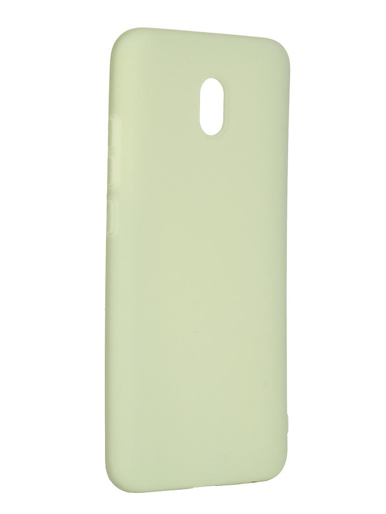 Чехол Pero для Xiaomi Redmi 8A Soft Touch Mint CC01-R8AGRN