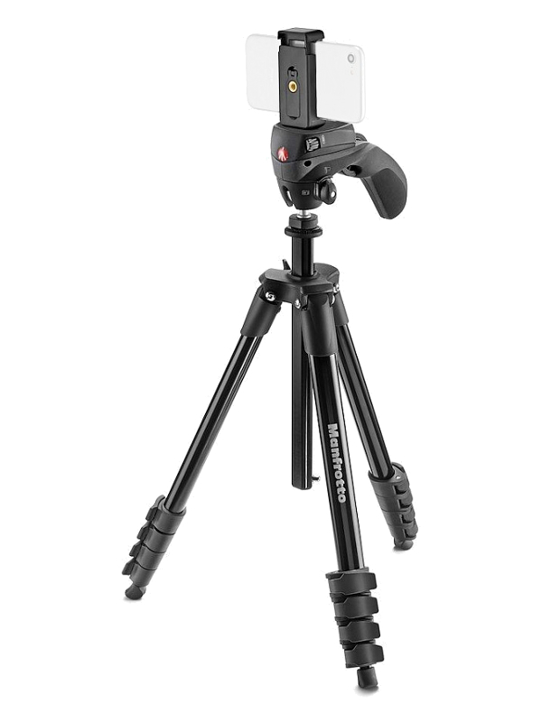 Штатив Manfrotto Compact Action Smart MKSCOMPACTACNBK
