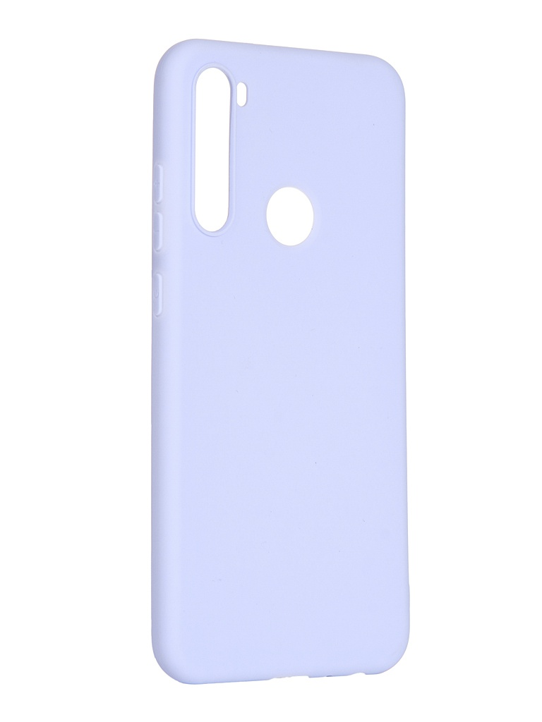 Чехол Pero для Xiaomi Redmi Note 8T Soft Touch Light-Blue CC01-RN8TOB