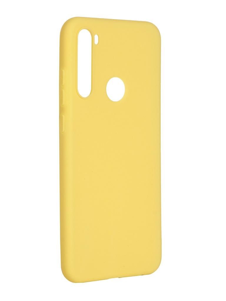Чехол Pero для Xiaomi Redmi Note 8T Soft Touch Yellow CC01-RN8TY чехол pero для xiaomi redmi note 8 pro soft touch blue cc01 rn8pbl