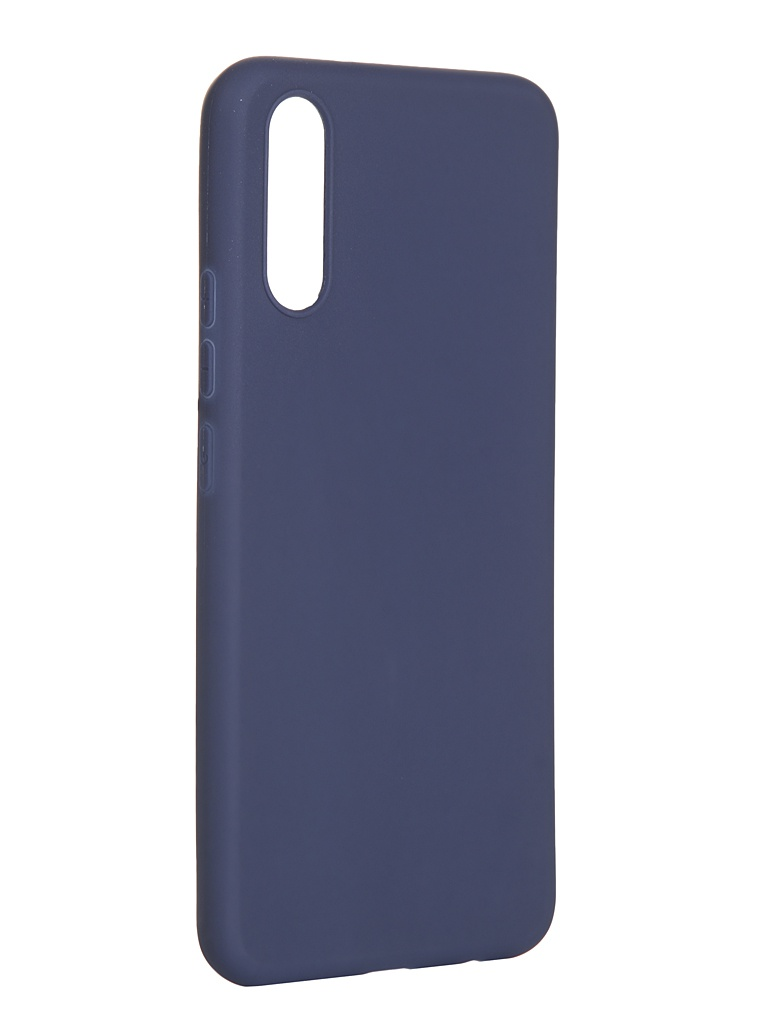 Чехол Pero для для Vivo V17 Neo Soft Touch Blue