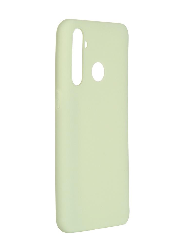 Чехол Pero для Realme 5 Pro Soft Touch Mint CC01-R5PGRN
