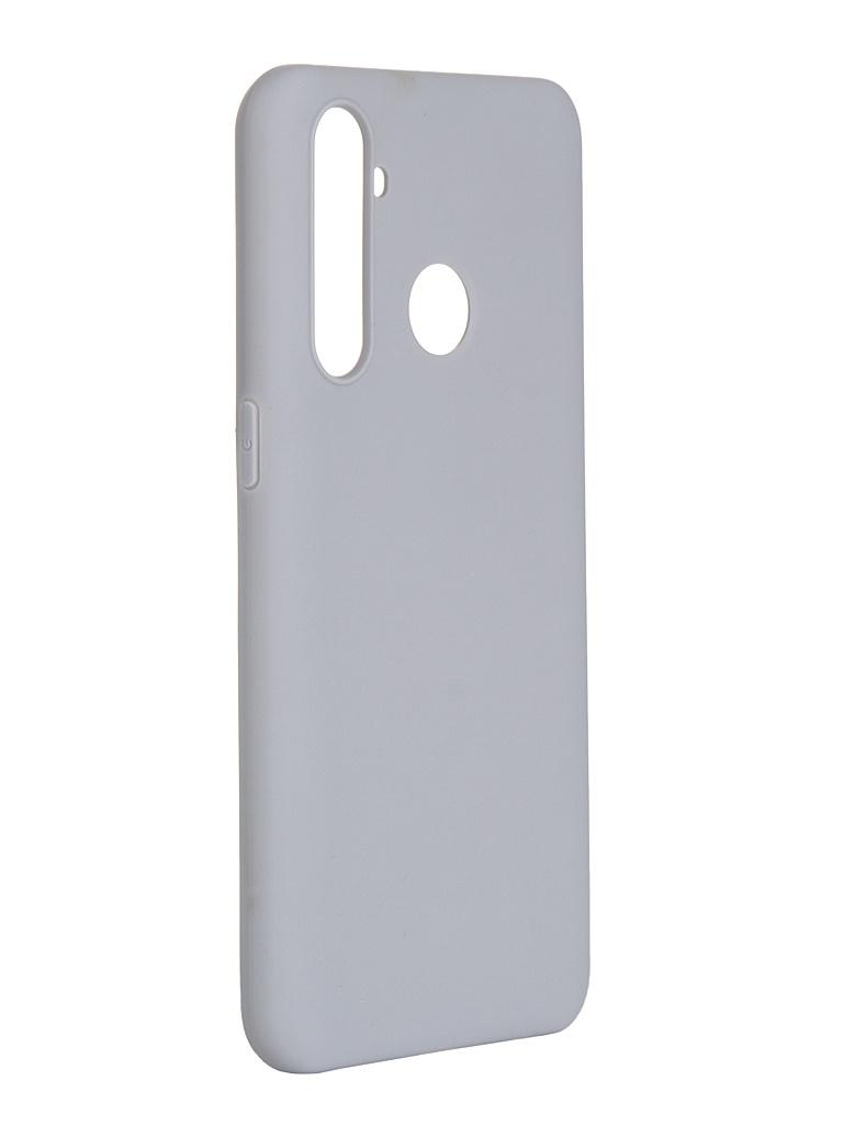 Чехол Pero для Realme 5 Pro Soft Touch Grey CC01-R5PGR