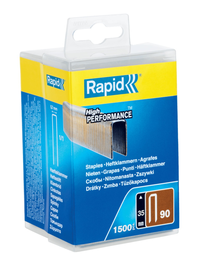 Скобы Rapid 35mm тип 90 1500шт 5000126