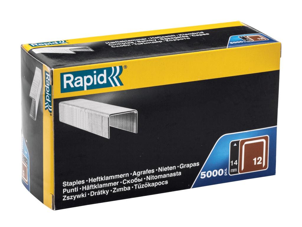 Скобы Rapid 14mm тип 80 5000шт 40100521