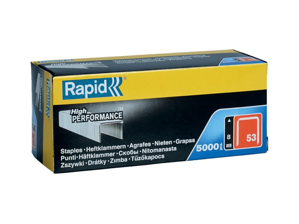 Скобы Rapid 8mm тип 53 5000шт 11857050