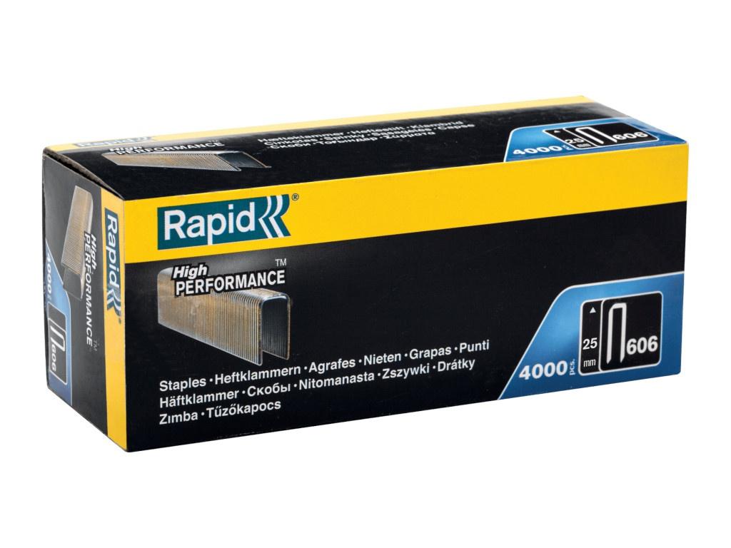 Скобы Rapid 25mm тип 55 4000шт 11737302
