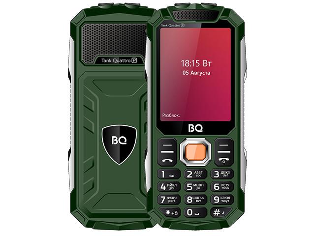Сотовый телефон BQ 2817 Tank Quattro Green