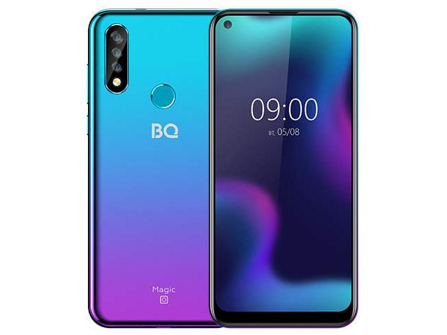 Сотовый телефон BQ 6424L Magic O Ultra Violet сотовый телефон bq 5731l magic s deep blue