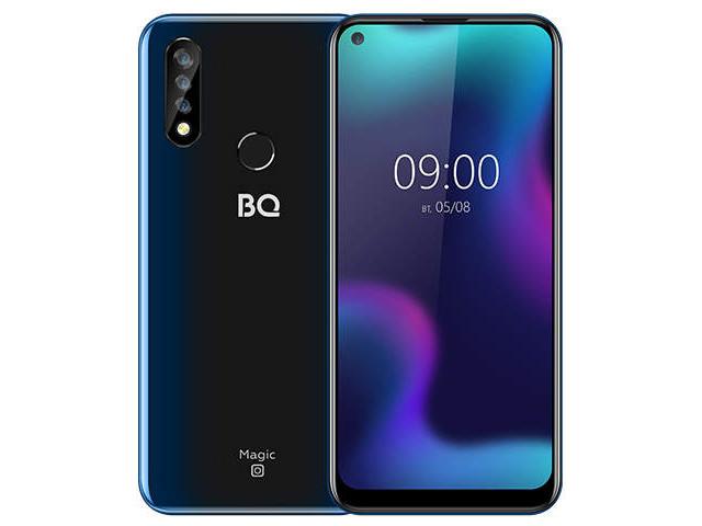 Сотовый телефон BQ 6424L Magic O Dark Blue сотовый телефон bq 4072 strike mini dark grey
