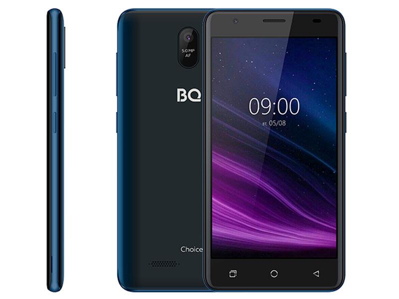 Сотовый телефон BQ 5016G Choice Deep Blue сотовый телефон bq 5731l magic s deep blue