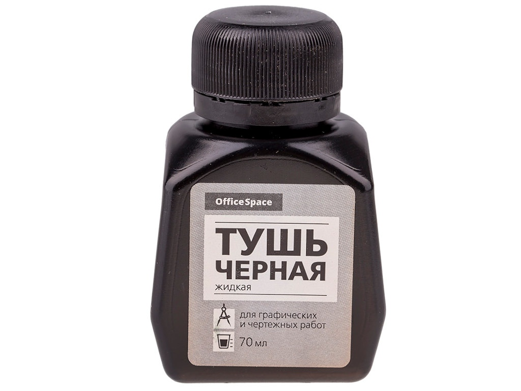 Тушь OfficeSpace 70ml Black ТУч_6386