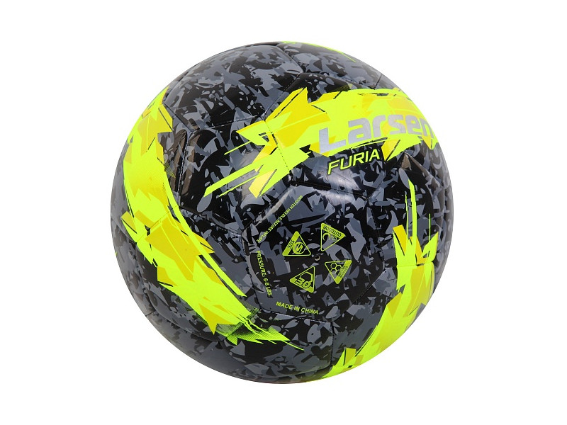 Мяч Larsen Furia Lime №5 356930 фото